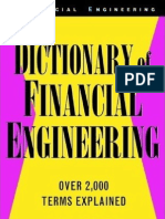 Blog Pages From Dictionary of Financial Engineering