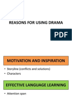 Reasons for Using Drama