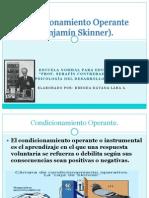 Condicionamiento Operante Skinner