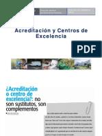 Acreditacion y Centros de Excelencia - Dr. Luis Legua MINSA