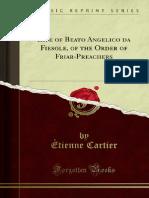 Life of Beato Angelico Da Fiesole of the Order of Friar-Preachers 1000265079