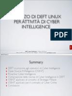 Emanuele Gentili Cyber Intelligence