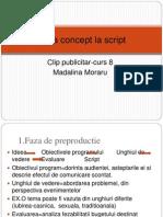 De La Concept La Script-curs 8