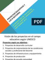 Proyectos Educativos y Analisis de Los 8 Sectores 15.03.11