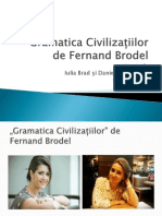 Fernand Brodel Gramatica Civilizațiilor