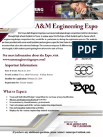 Engineering Expo Flyer