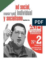 Alo Presidente Teorico2.Propiedad Social,Libertad Individualysocialismo