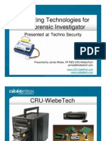 En Crypt Ing Technologies for the Forensic Investigator