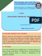Exp Evaluac Priv Proy- Parte I