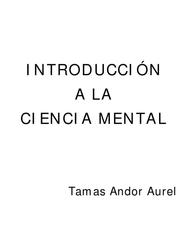 Introducción Tamas Ciencia AurelFelicidad Mental La Andor Y A EDIH9YbeW2