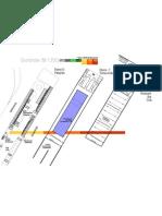 """Grundrisse der Architektur-Diplomarbeit """"unternull.de - Ein Schwimmbad unter dem Alexanderplatz"""""""