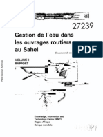 Guide de Gestion de l'Eau Dans Les Ouvrages Routiers Au Sahel_V1_BM