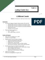 SS 11 - Unit 1-0 - Reading Guides - Keys