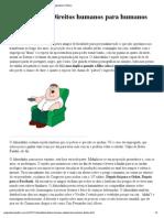 """Almeidinha_ """"Direitos humanos para humanos direitos"""" _ Pragmatismo Político"""