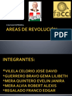 AREAS DE REVOLUCIÓN