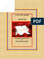 antologia poetica i volti dell'amore 2014 di emanuele locatelli scrrittore