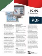 Ion Enterprise Long Datasheet