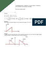 01 - Esercizi Su Segnali, Sistemi LTI, Trasformata Di Fourier