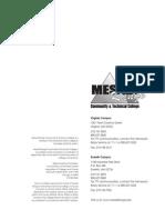 MRCTC 2011 Course Catalog