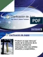 Clarificación y Filtración de jugo