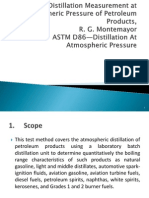 9. Distillation Measurement at Atmospheric Pressure