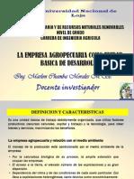 2. La Empresa Agropecuaria