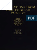 Translations From Old English Poetry-Cook and Tinker