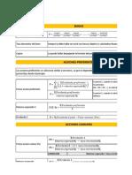 Formulas Bonos - Acciones