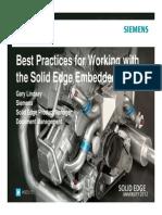 509-bestpracticesforworkingwiththesolidedgeembeddedclient-garylindsay-120918124520-phpapp01