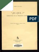 8 - ''Es Que...'' Estructura de La Pregunta General