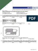 NSTSE Sample Paper Class 6
