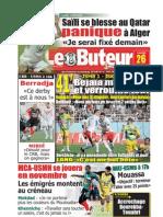 LE BUTEUR PDF du 26/09/2009