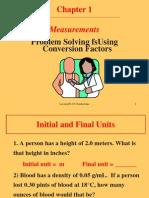 Using Conversion Factors