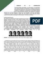 ASPECTOS NO VERBALES DE LA COMUNICACIÓN