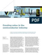 McKinsey - Creating Value in Semiconductor Industry