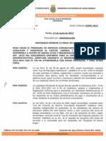 Ordenanza Numero 33 Programa de Servicio Comunitario y Enmienda El Reglamento Uniforme Para La Imposicion Yo Decisiones Administrativas
