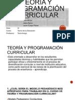 Teoría y Programación