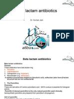 Beta Lactam Antibiotics