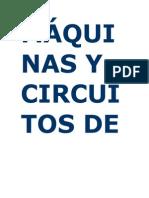 MÁQUINAS Y CIRCUITOS DE FLOTACIÓN