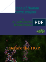 Glimpses of Human Genome Project