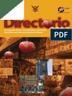 Directorio2013 China Mexico