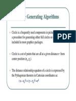 3circle Drawing Algorithms