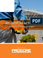 RFI Best Practices-Tips From a Project Manager
