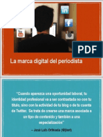 Marca Digital para periodistas