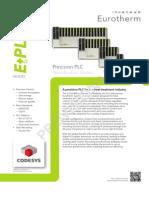 E PLC400 Spec Provisional
