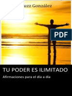 Yuzz Gonzalez /Libro Tu Poder es Ilimitado