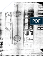 Manual de Partes - Renault 6