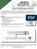 C2RGM11B Manual