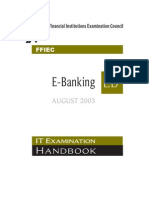 FFIEC ITBooklet E-Banking