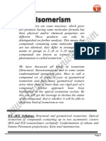 Isomerism Notes